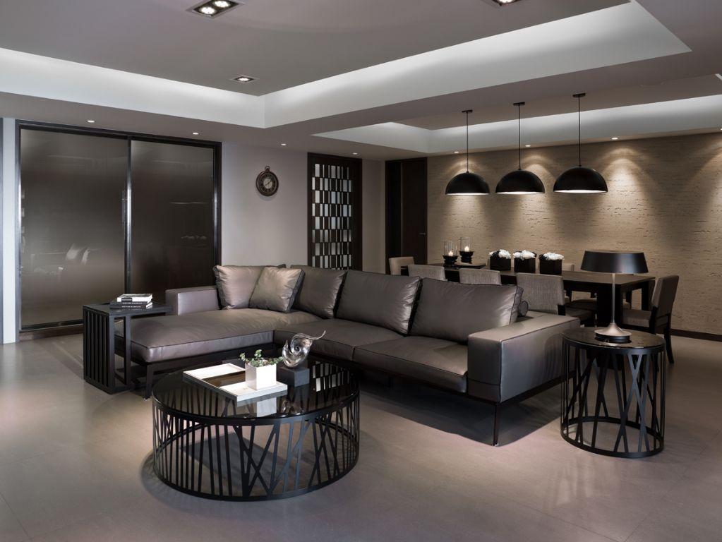 创意现代家装客厅家具设计
