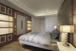 简欧风格卧室收纳柜设计