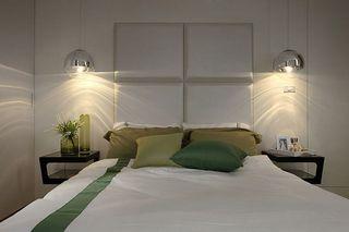 简洁现代卧室灯饰欣赏