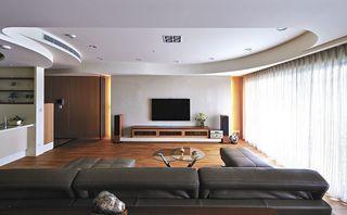 创意原木日式公寓效果图