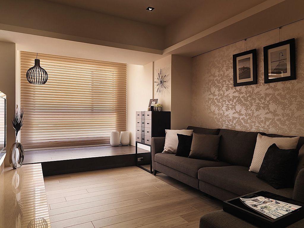 中性色北欧风客厅家装设计