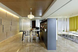 现代简约装修餐厅吊顶设计