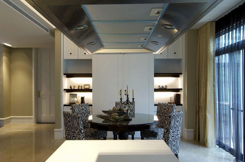 简欧风格餐厅吊顶设计