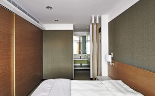 时尚小户型现代日式卧室效果图