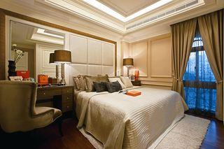浪漫简欧风卧室 软包背景墙欣赏