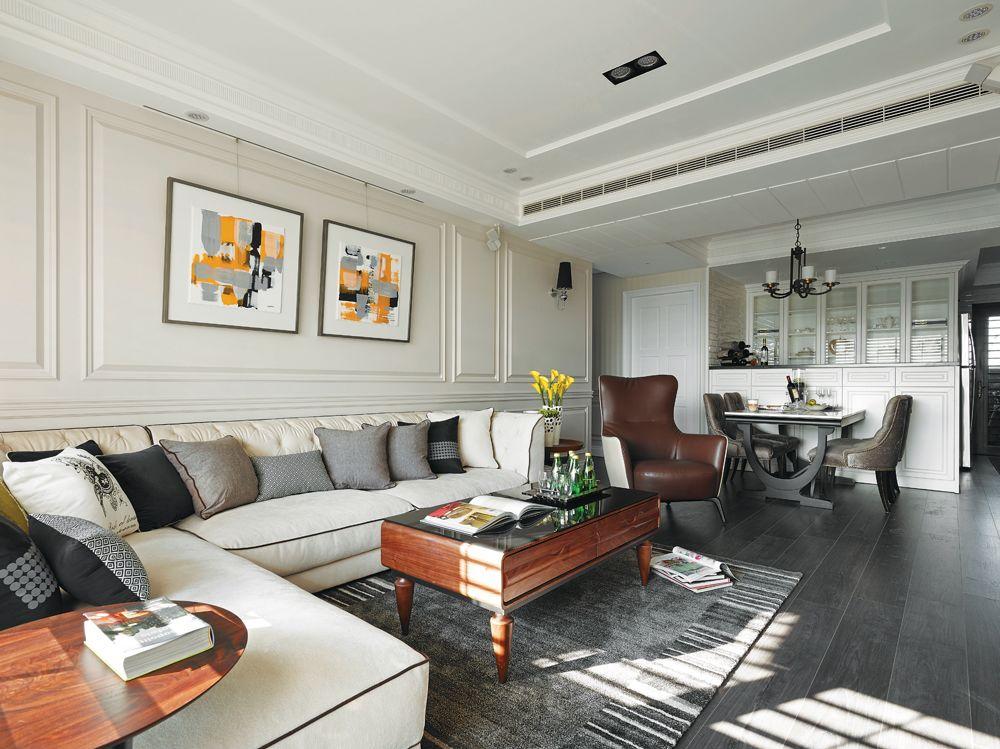现代风格客厅装饰画欣赏