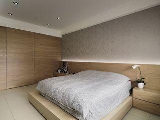 宜家简约风卧室原木衣柜设计