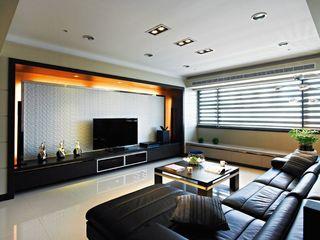 現代78平二居老房翻新設計