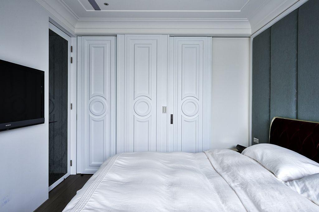 时尚简欧卧室衣柜设计