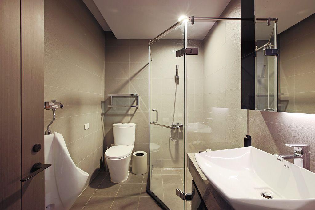 简约风卫生间淋浴房图片