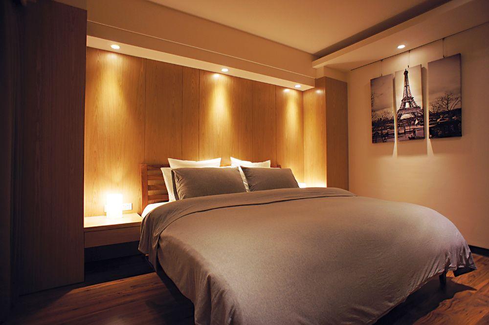 温馨酒店式现代风卧室效果图