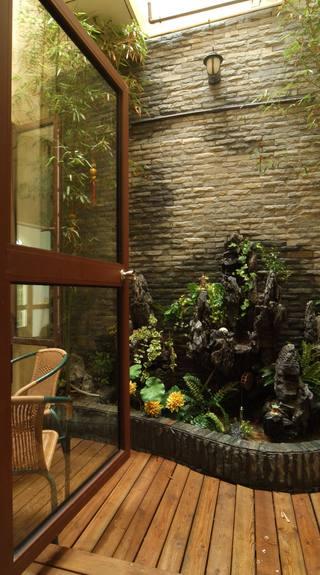 精美复古美式家居室内小花园欣赏