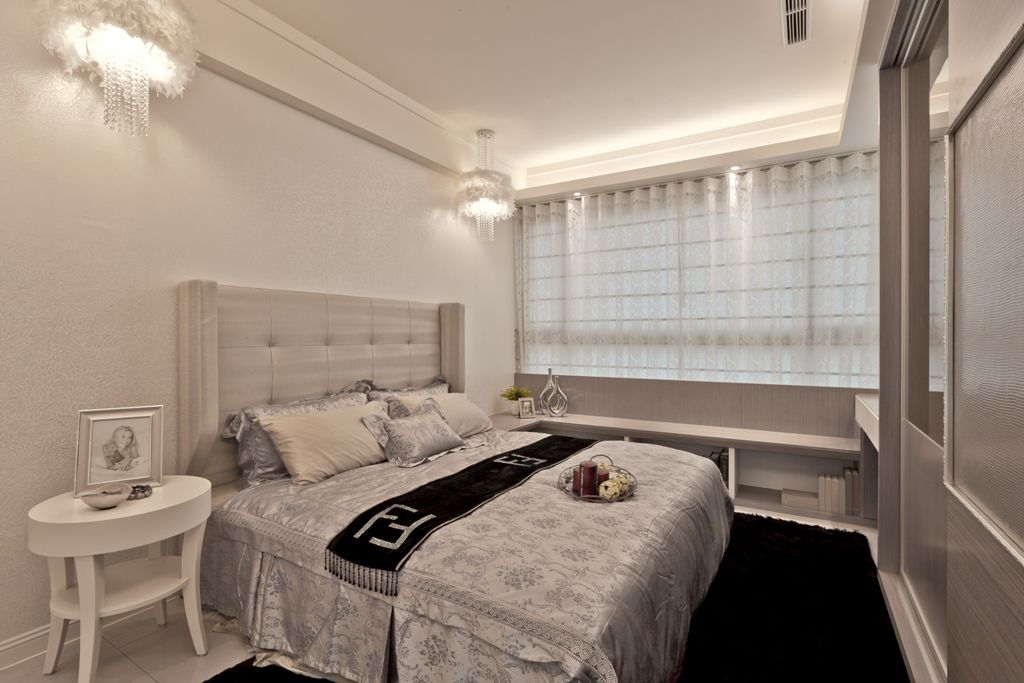 浪漫北欧风情卧室效果图大全