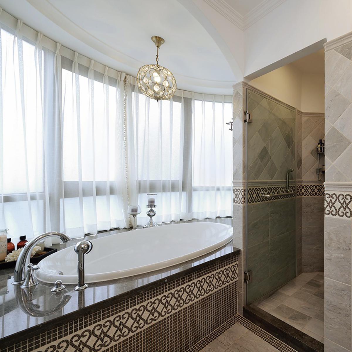 奢华高端简欧风浴室效果图