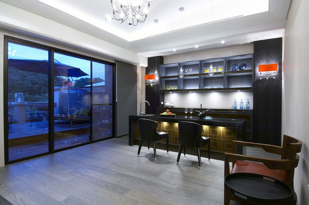 古典欧式风格 别墅室内吧台设计