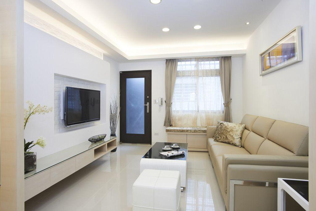 家装客厅简约装修设计案例图