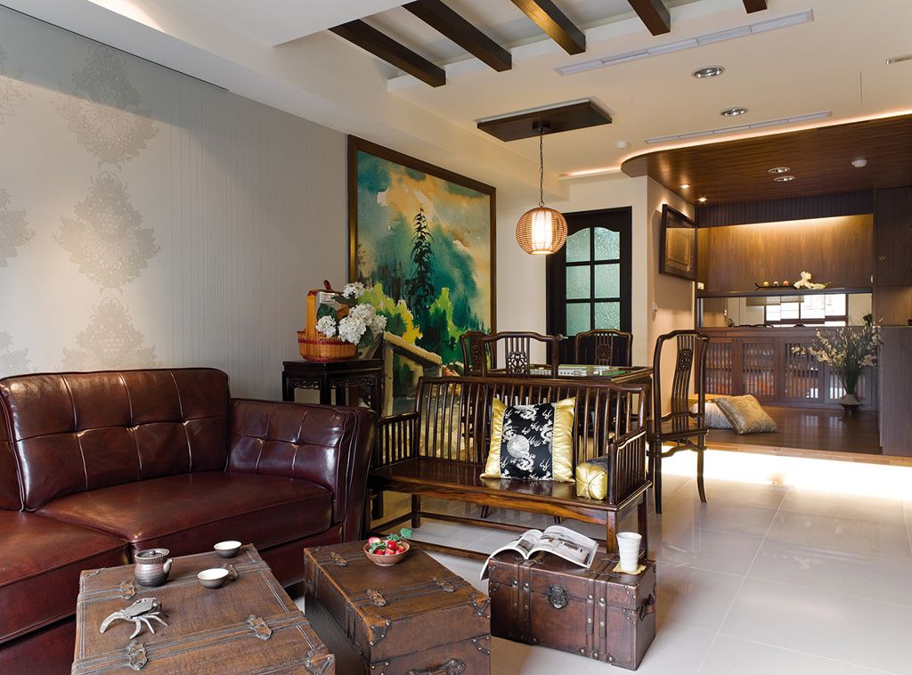 古典中式风格公寓室内效果图