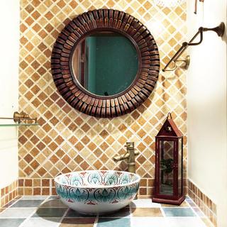 东南亚风格家居洗手台欣赏