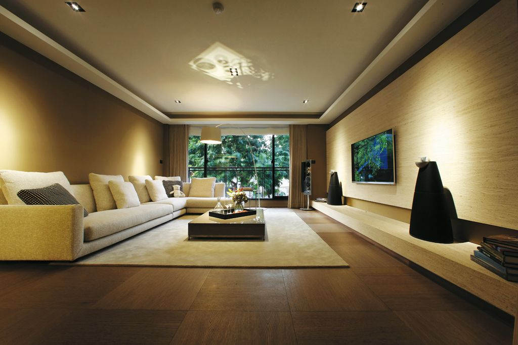 自然原木现代风 客厅装饰大全