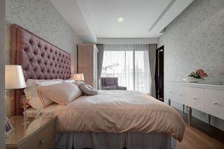唯美简欧公寓卧室装修图