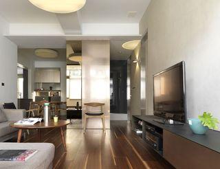 现代二居室内隔断设计