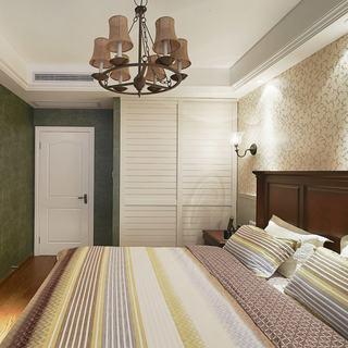 美式田园风卧室衣柜设计
