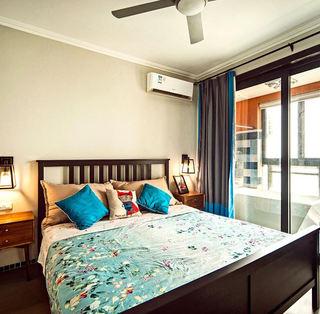 复古乡村美式卧室效果图
