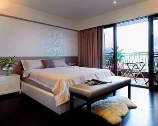精美浪漫现代风卧室效果图
