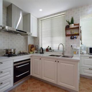 简洁美式风格厨房橱柜设计