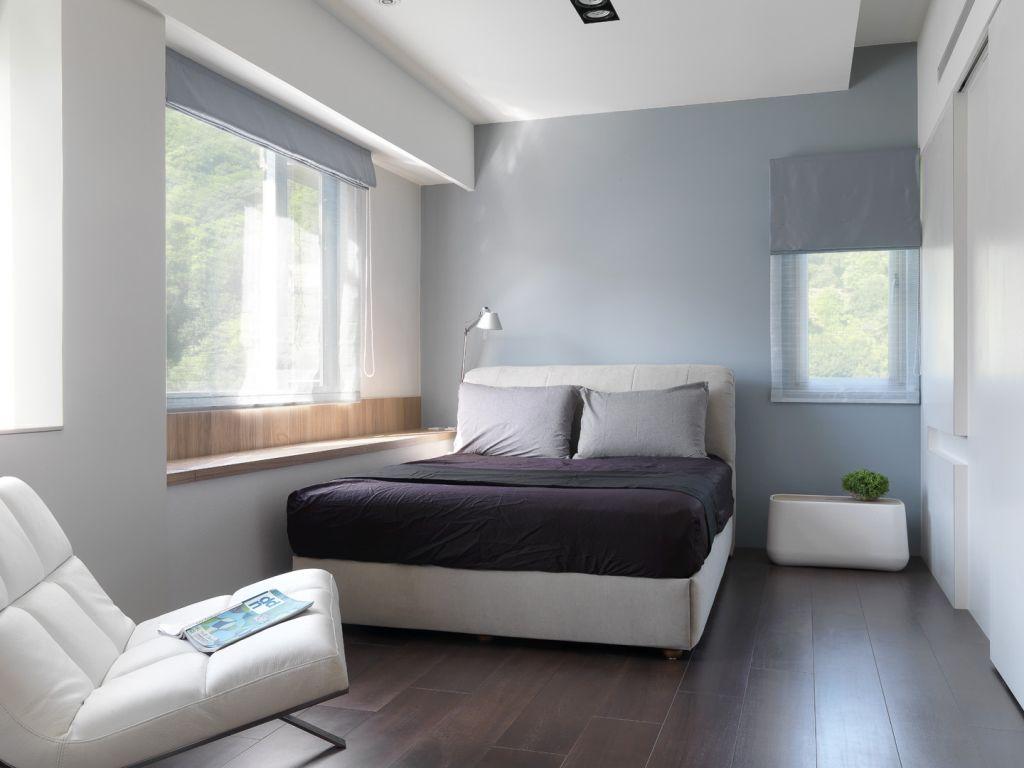 简约酒店式公寓卧室效果图