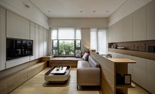 休闲简约宜家风公寓 原木家居设计