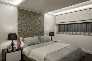 美式新古典卧室背景墙欣赏
