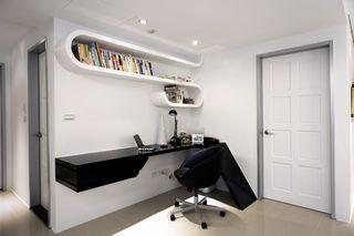 简约创意设计书房效果图