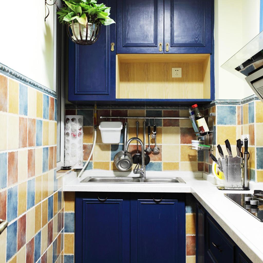 东南亚风格厨房橱柜装饰图
