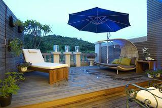欧式风格别墅露天阳台设计