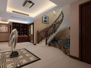 中式现代别墅楼梯设计