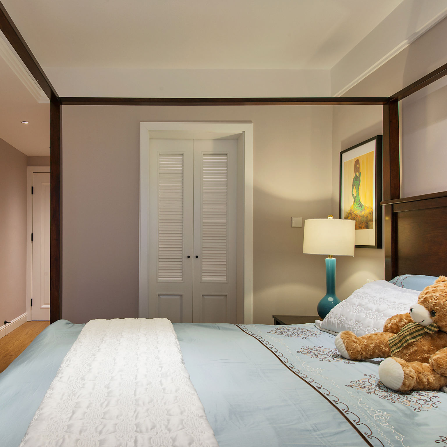 美式风格卧室创意设计图片