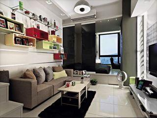 28平小户型公寓现代创意设计