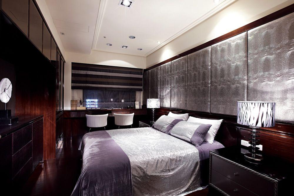 低奢新古典风格 卧室整体效果图