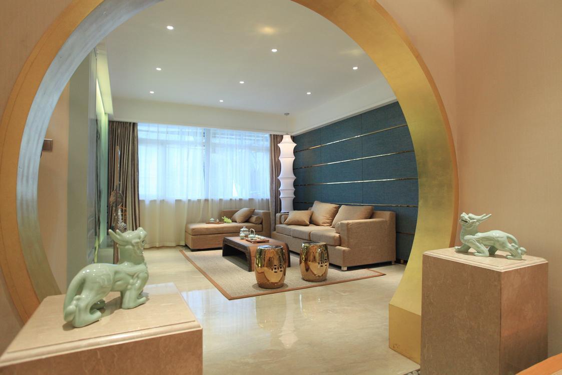 温馨古典中式家居拱门设计