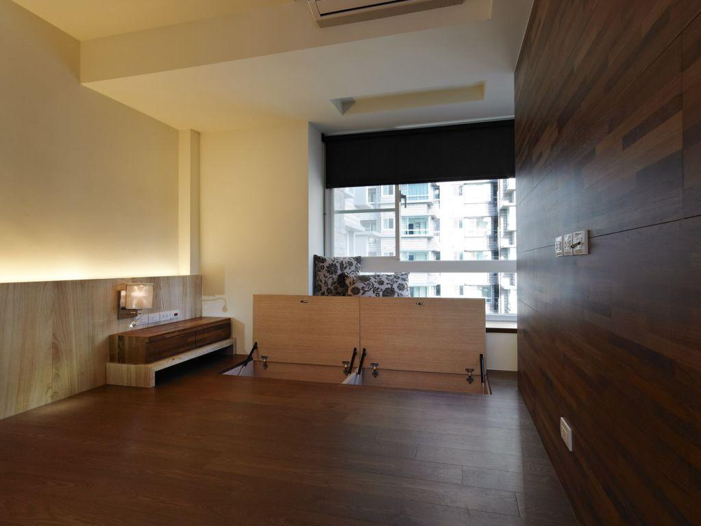 日式和风榻榻米 多功能卧室效果图