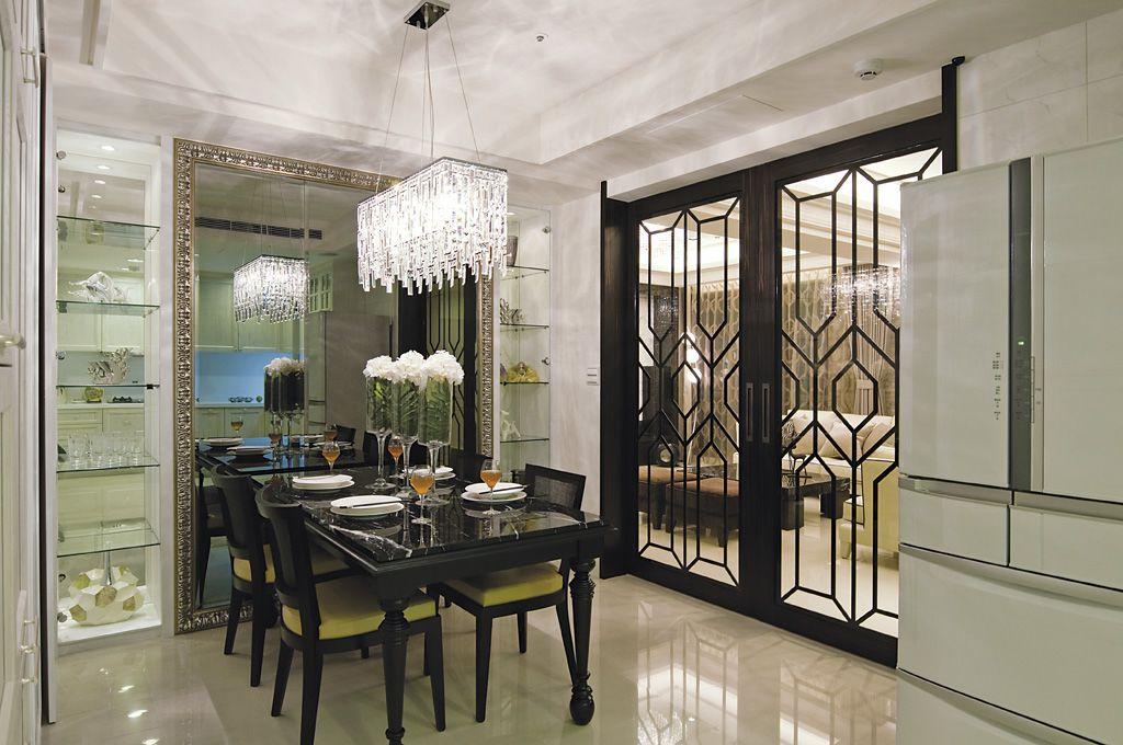浪漫复古美式餐厅装饰大全