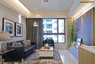 简约风格客厅软装装饰图