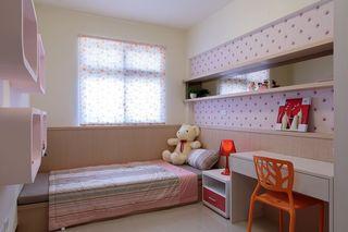 甜美粉色系宜家风儿童房设计