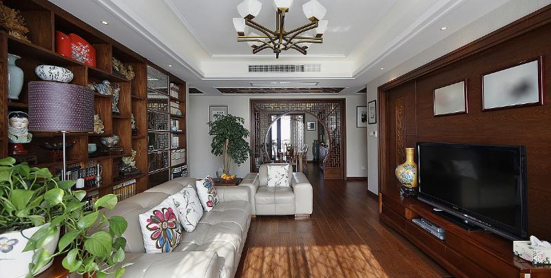 仿古中式风格公寓美图欣赏