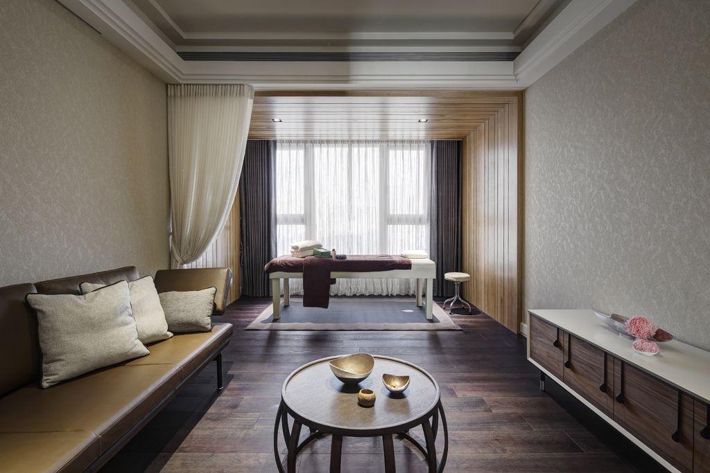 最新现代风格窗帘隔断设计