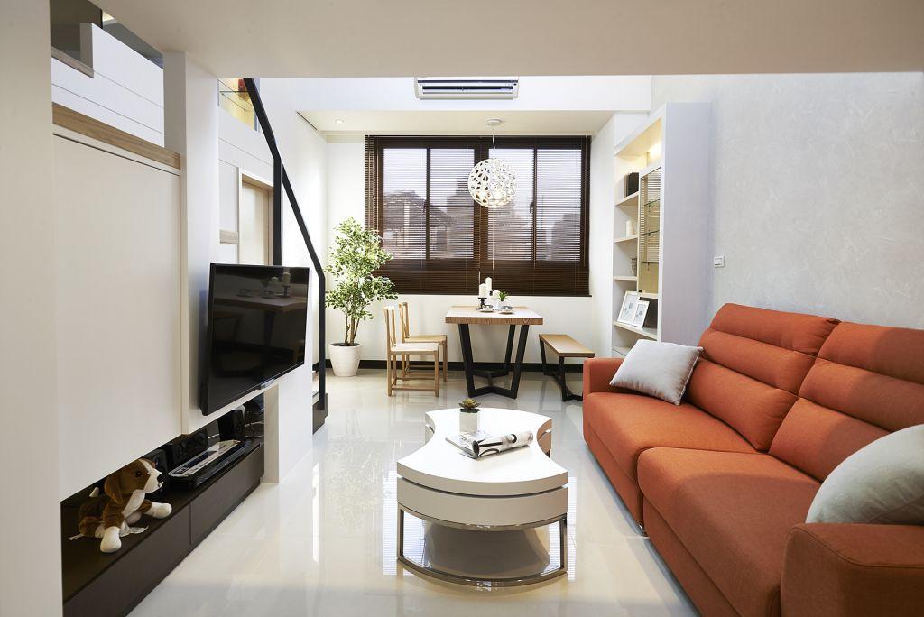 日式风格客厅茶几装饰
