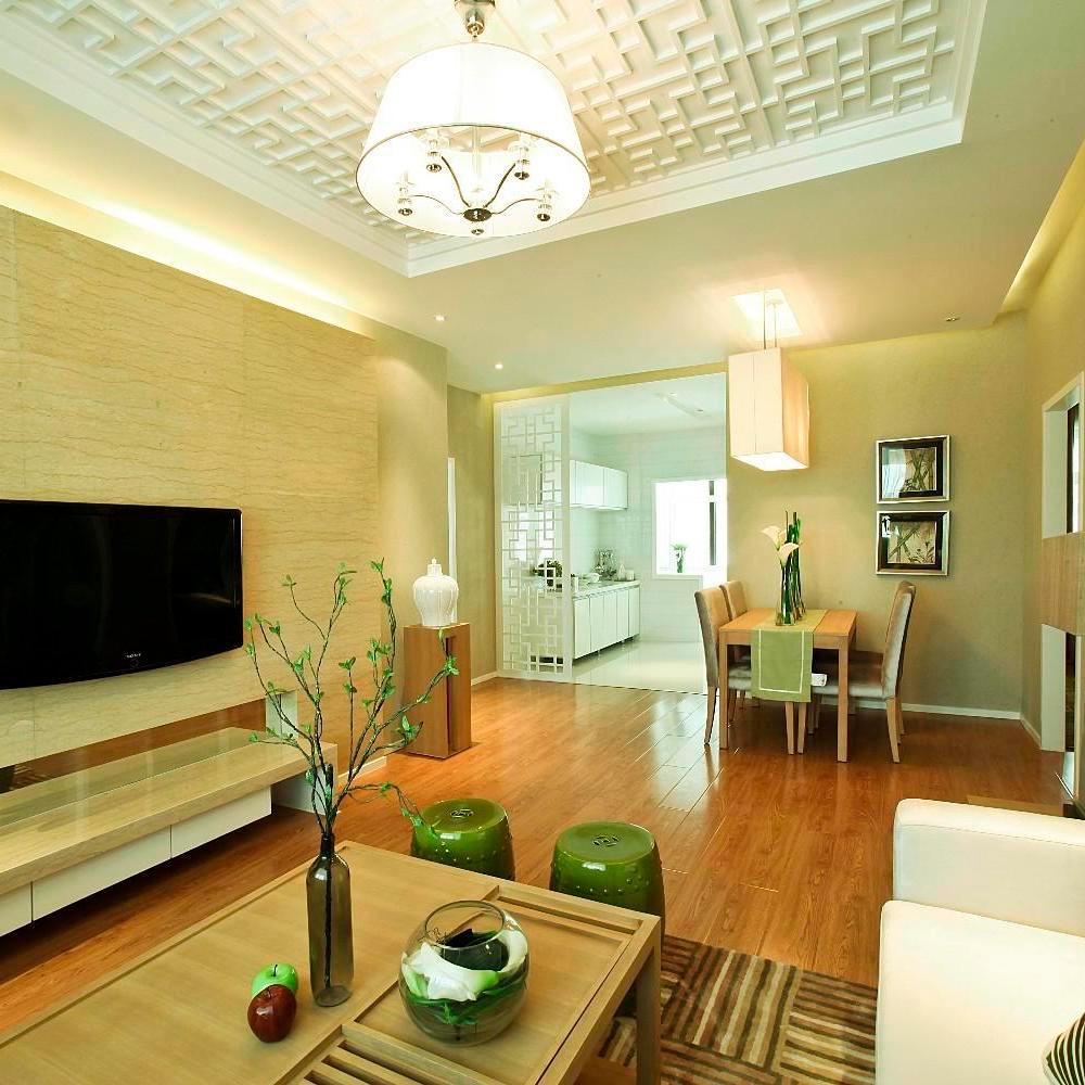 简约优雅中式家装效果图