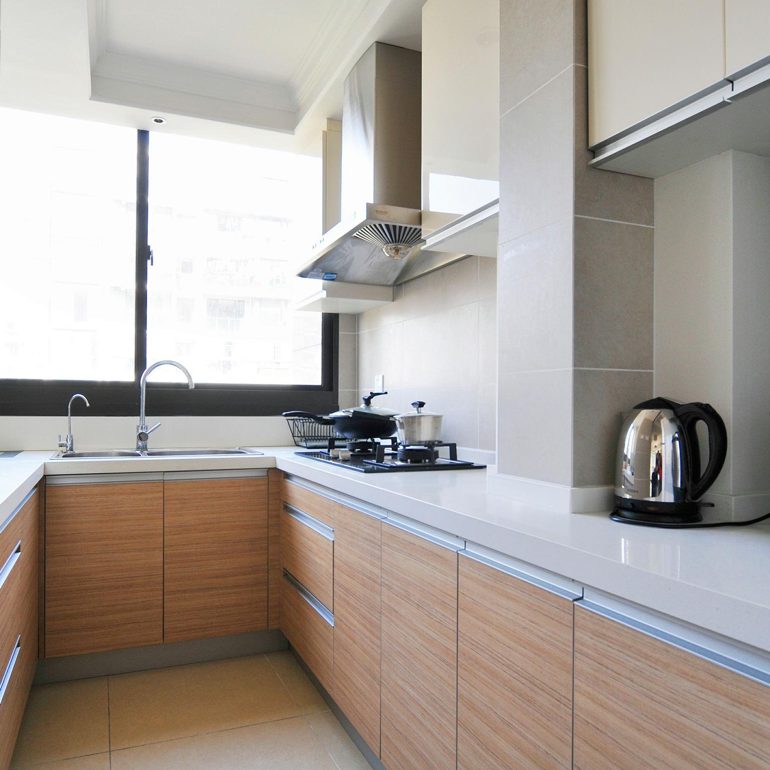 簡約設計廚房實木櫥柜效果圖