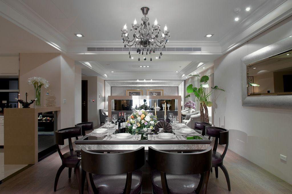 简欧风格公寓餐厅装修效果图